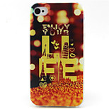 Lighting  Pattern TPU Phone Case for iPhone 4/4S