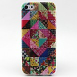 Floral Pattern TPU Material Phone Case for iPhone 5C