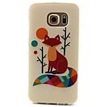 fox-Muster-TPU Material Telefonkasten für Samsung-Galaxie S3 S4 S5 S6 s3mini s4mini s5mini s6 Rand