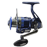 Spinning German Technology Fishing Reel 10 Balls Bearing + 1 Roller Bearing SSV1000 Royal Blue Fish Reels