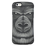 Orangutan  Pattern PC + TPU Drop Resistance  Phone Shell For iPhone 6