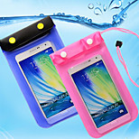 Strap Button Transparent Waterproof Touchscreen for iPhone 6/6S /5/5S /4/4S/5C/6/6S Plus  (Assorted Colors)