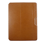 LENTION Elegant Genuine Leather Case with Folding Stand for Ipad 2/3/4 More Colors