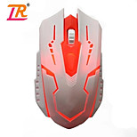 LR-GM03 4 Buttons Optical USB Wired Gaming Mouse 2000DPI
