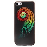 Stairs Pattern TPU Material Soft Phone Case for iPhone 5C