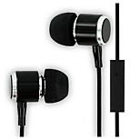 High Quality Stereo Earphone 3.5mm In Ear Headphones with Mic for iPhone 6 Huawei LG Sony MP4 MP3