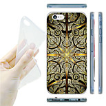 Totem Pattern TPU Soft Back Case for iPhone 6