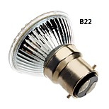 b22 / e27 5W-81 a mené la lumière 400-450lm chaud / blanc naturel conduit ampoule spot (85-265V)
