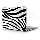 Zebra-Stripe Pattern Full-Body Protective Plastic Case for 12