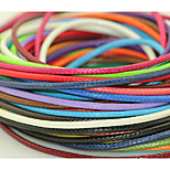 Beadia 160M/Roll Fashion 1.5mm Korean Waxed Cotton Cord  28 Colors U-Pick Beading String