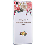 Msvii Personality relievo & colored drawing Cases/Covers for OPPO R7