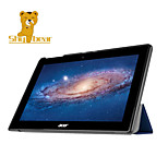 verlegen beer ™ lederen hoes staan geval voor Acer Iconia Tab 10 a3-a30 10,1