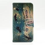 peter pan mönster insidan målade kort fallet för Samsung Galaxy Note 5