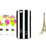 Silicone Material Jelly Vertical Stripes Design for iPhone 6Plus (Assorted Colors)