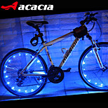ACACIA LEDs Cycling Bike Waterproof Wheel Signal Tire Spoke Brighting Light Flash Light wire lamp