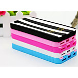 Silicone Material Jelly Vertical Stripes Design for iPhone 6 (Assorted Colors)