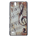 Music Pattern PC Hard Case for Sony Xperia C4