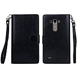 PU Leather Special Design Full Body Cases Detachable 9 Card Wallet For LG G3(Assorted Color)