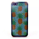 Pineapple Pattern Glitter TPU Cell Phone Soft Shell For iPhone 5/5S