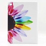Sunflower Flower PU Leather Full Body Case with Stand for Ipad Air 2 Ipad 6