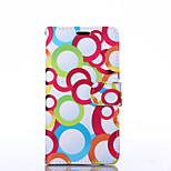 Bubble Pattern PU Leather Full Body Case with Stand for Sony Z3