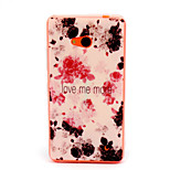 Safflower  Pattern TPU Phone Case for Nokia Microsoft Lumia 640