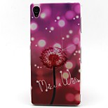 Dandelion Pattern TPU Material Phone Case for Sony Xperia Z3/Z3 Mini