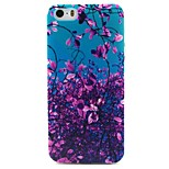 Leaves Pattern TPU Material Phone Case for iPhone 5/5S
