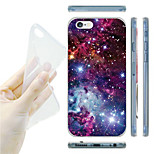Starry Sky  Pattern TPU Soft Back Case for iPhone 6