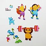 Animal Family 3D KS-07 Stickers