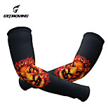 GETMOVING    100% Polyester Cycling Protective Gear Arm Warmer
