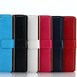 New fashion Card Holder PU Leather Solid Cover Case for Sony Xperia Z3 (Assorted Colors)
