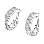 Z&X® Simple Rhinestone Hood Earrings Wedding/Party/Daily