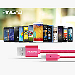 Pingao® Pinky Nylon Adroid Data Cable