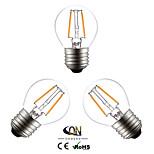 3PCS  ONDENN E26/E27 2 W 2 X COB 200 LM 2800-3200K K Warm White A Globe Bulbs AC 220-240/AC 110-130 V