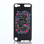 Flower Pattern PC Hard Case for iPod Touch 5