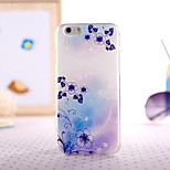 Blue Color Painting Ultrathin TPU with Plastic for iPhone 6