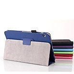 High Quality Solid Colors Linen Finish Full Body Stand Cases for Toshiba Encore 2 Wt10 (Assorted Colors)