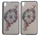 Compass Anchor Pattern PC Hard Case for HTC Desire 816/HTC Desire 826