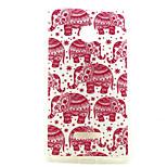 Paper Cut  Pattern TPU + IMD Soft Back Cover Case For Microsoft Lumia 435/Nokia N435