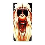 COCO FUN® Sunglasses Orangutan Pattern Soft TPU IMD Back Case Cover for Sony M4