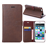 Crazy Horse Texture Horizontal Flip Leather Case with Card Slots and Holder