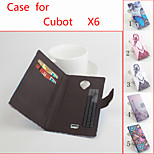 Flip Leather Magnetic Protective Case For Cubot X6(Assorted Colors)