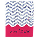 Smile Wave Pattern PU Leather Full Body Case with Stand for iPad 2/3/4