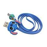 disney puntada cable de carga para Samsung s4 / s5 / s6 / S6E