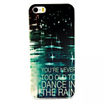 Colorful Raindrops Pattern TPU Material Phone Case For iPhone 5/5S