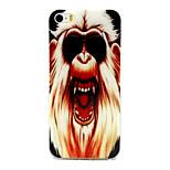 Orangutan Pattern TPU Material Phone Case for iPhone 5/5S