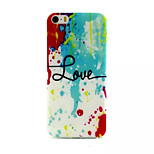 Love Of Paint Pattern TPU Material Phone Case For iPhone 5/5S
