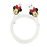 Disney Aminnie Charging Cable For Iphone 5G/5S/5C/6/6PLUS Ipad Air 2 Ipad Mini