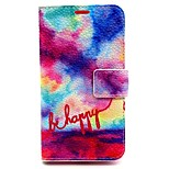 Colorful Pattern PU Leather Material Card Full Body Case for Nokia Lumia 630